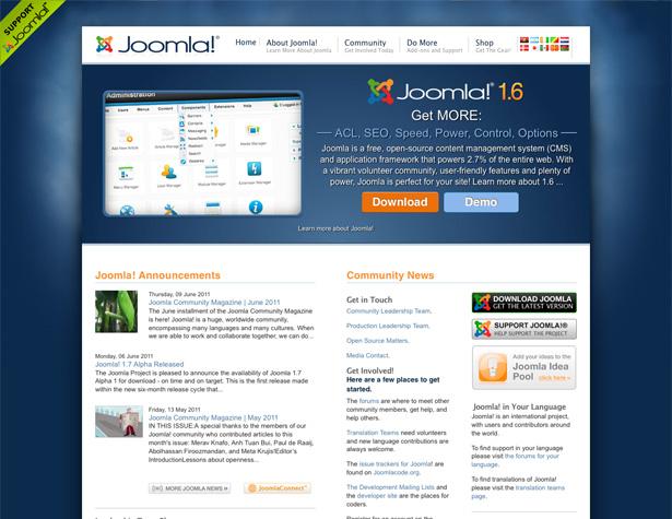 سیستم مدیریت محتوای سایت جوملا (Joomla)