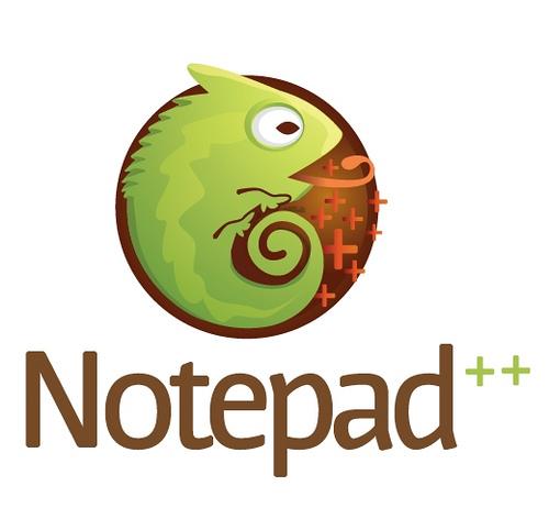 نرم افزار طراحی سایت Notepad++