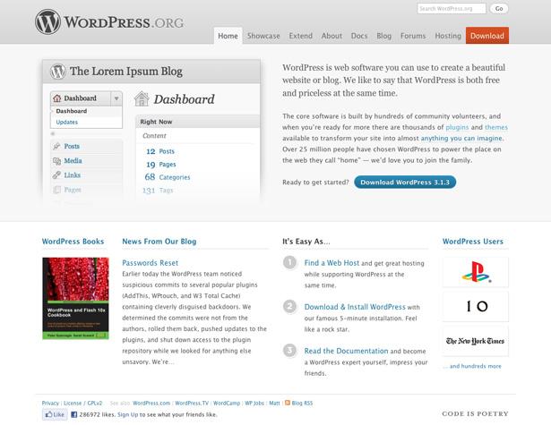 سیستم مدیریت محتوای سایت وردپرس (WordPress)